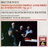 BEETHOVEN - Karajan - Triple concerto pour piano, violon et violoncelle