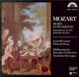 MOZART - Greer - Rondo pour cor et orchestre K.371