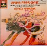 GRIEG - Marriner - Peer Gynt : musique de scène