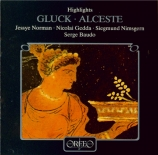 GLUCK - Baudo - Alceste : extraits
