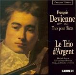 DEVIENNE - Trio d'Argent ( - Trios pour flûte (3)