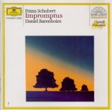 SCHUBERT - Barenboim - Quatre impromptus, pour piano op.posth.142 D.935