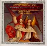 BACH - Rifkin - Ein feste Burg ist unser Gott, cantate pour solistes, ch