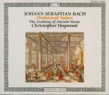 BACH - Hogwood - Quatre suites pour orchestre BWV 1066-1069