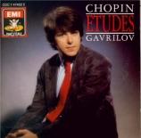 CHOPIN - Gavrilov - Douze études pour piano op.10