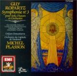 ROPARTZ - Plasson - Symphonie pour solistes, choeur et orchestre n°3 en m