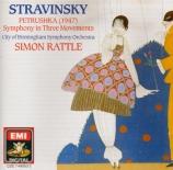 STRAVINSKY - Rattle - Petrouchka, ballet burlesque pour orchestre en 4 t