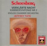 SCHOENBERG - Tate - Symphonie de chambre n°2 op.38b