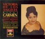 BIZET - Beecham - Carmen, opéra comique WD.31