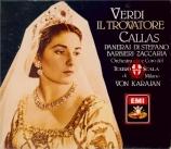 VERDI - Karajan - Il trovatore, opéra en quatre actes (version originale