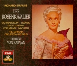STRAUSS - Karajan - Der Rosenkavalier (Le chevalier à la rose), opéra op version stéréo
