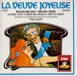LEHAR - Leenart - Veuve Joyeuse (La) : extraits