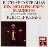 STRAUSS - Kempe - Ein Heldenleben, poème symphonique pour grand orchestr