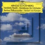 SCHOENBERG - Karajan - Variations pour orchestre op.31