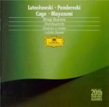 LUTOSLAWSKI - LaSalle Quartet - Quatuor à cordes