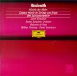 HINDEMITH - Barenboim - Der Schwanendreher, pour alto et orchestre de ch