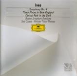 IVES - Ozawa - Symphonie n°4