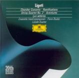 LIGETI - Boulez - Ramifications