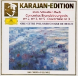 BACH - Karajan - Concerto brandebourgeois n°2 pour orchestre en fa majeu