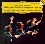 BRAHMS - Abbado - Danses hongroises n°1-21 WoO.1 : orchestration