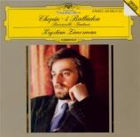 CHOPIN - Zimerman - Ballade pour piano n°1 en sol mineur op.23 n°1
