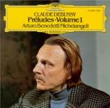 DEBUSSY - Michelangeli - Préludes I, pour piano L.117