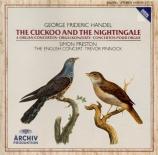 HAENDEL - Preston - Concerto pour orgue n°14 en la majeur n°13 HWV.296a