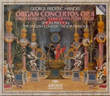 HAENDEL - Pinnock - Six concertos pour orgue op.4 HWV.289-294