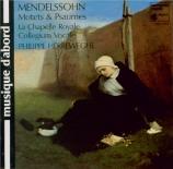 MENDELSSOHN-BARTHOLDY - Herreweghe - Psaume 2, pour huit voix solo ou do