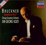 BRUCKNER - Solti - Symphonie n°7 en mi majeur WAB 107