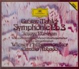 MAHLER - Abbado - Symphonie n°3