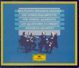 MOZART - Amadeus Quartet - Quatuors à cordes (Intégrale)
