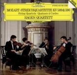 MOZART - Hagen Quartett - Quatuor à cordes n°22 en si bémol majeur K.589