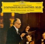 MOZART - Böhm - Symphonie n°29 en la majeur K.201 (K6.186a)