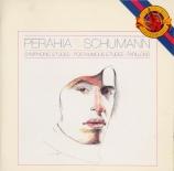SCHUMANN - Perahia - Études symphoniques, pour piano op.13