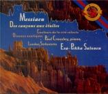 MESSIAEN - Salonen - Des canyons aux étoiles