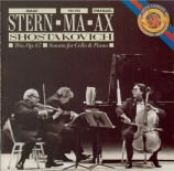 CHOSTAKOVITCH - Stern - Trio avec piano n°2 op.67