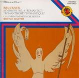BRUCKNER - Walter - Symphonie n°4 en mi bémol majeur WAB 104