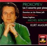 PROKOFIEV - Masur - Concerto pour piano et orchestre n°1 en ré bémol maj