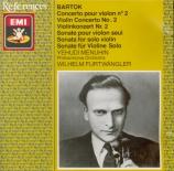 BARTOK - Menuhin - Concerto pour violon n°2 Sz.112 BB.117