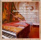 BACH - Pinnock - Concerto pour clavecin et cordes n°4 en la majeur BWV.1