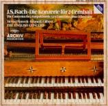 BACH - Pinnock - Concerto pour deux clavecins et cordes en do mineur BWV