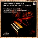 BACH - Gilbert - Concerto pour quatre clavecins et cordes en la mineur B
