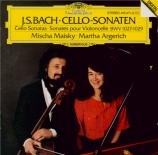 BACH - Maisky - Trois sonates pour violoncelle et piano BWV.1027-1029