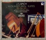 BACH - Goebel - Quatre suites pour orchestre BWV 1066-1069