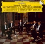 MOZART - Levine - Quintette pour piano, hautbois, clarinette, cor et bas