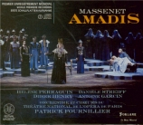 MASSENET - Fournillier - Amadis, opéra légendaire