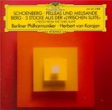 SCHOENBERG - Karajan - Pelleas und Melisande, poème symphonique pour orc
