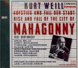 WEILL - Latham-Koenig - Mahagonny Songspiel (The little Mahagonny)