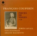 Pièces de violes 1728